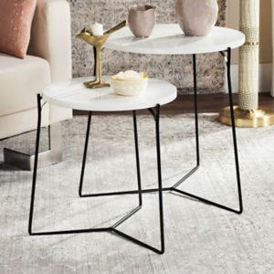 Safavieh Modern Nesting End Table 2-piece Set