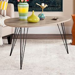 Safavieh Contemporary Industrial Coffee Table