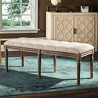 Safavieh French Classic Tufted Bench