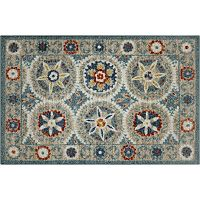 Madison Lannister Framed Medallion Rug