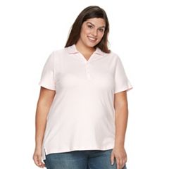 Plus Size Croft & Barrow® Pique Polo