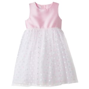 Girls 4-6x Marmellatta Classics Glitter Polka-Dot Skirt Dress
