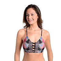 Women's Cyn and Luca Lace-Up Bikini Top