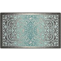 Madison Malibu Framed Floral Rug