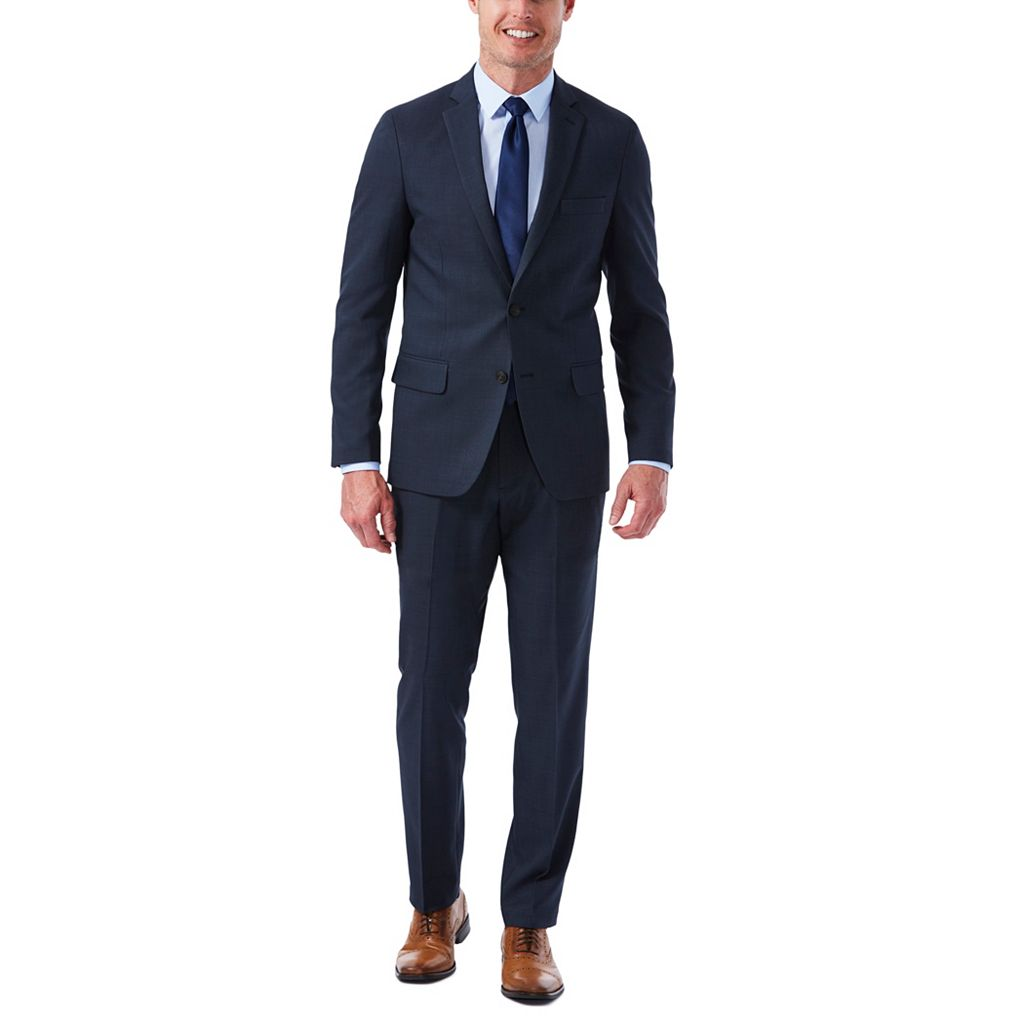 Men's Haggar Slim-Fit Stretch Melange Gabardine Suit Jacket