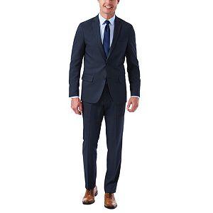 Men's Haggar Slim-Fit Stretch Melange Gabardine Suit Jacket