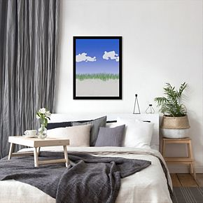 """Americanflat """"Third Beach 2"""" Framed Wall Art"""