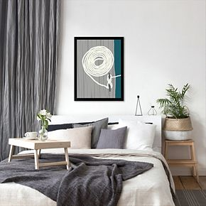 """Americanflat """"Coil and Cleat 1"""" Framed Wall Art"""