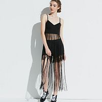 k/lab Long Fringe Bralette