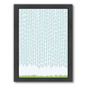 "Americanflat ""Rain Dashes"" Framed Wall Art"