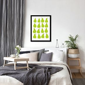 "Americanflat ""Pears"" Framed Wall Art"