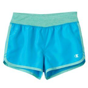 Girls 4-6x Champion Dolphin Hem Running Shorts