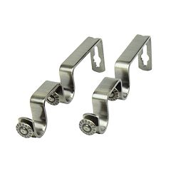 Rod Desyne 2-pk. Double Curtain Rod Brackets