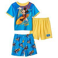 Disney's Mickey Mouse Toddler Boy 3-pc. Pajama Set