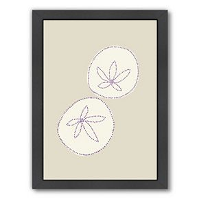 "Americanflat ""Sand Dollar"" Framed Wall Art"