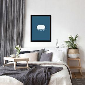 "Americanflat ""Jellyfish"" Framed Wall Art"