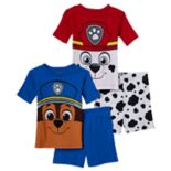 Toddler Boy Paw Patrol Chase & Marshall Graphic 4-pc. Pajama Set