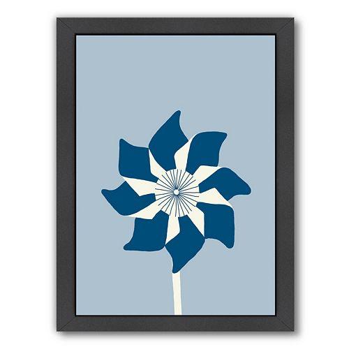 "Americanflat ""Pinwheel"" Framed Wall Art"