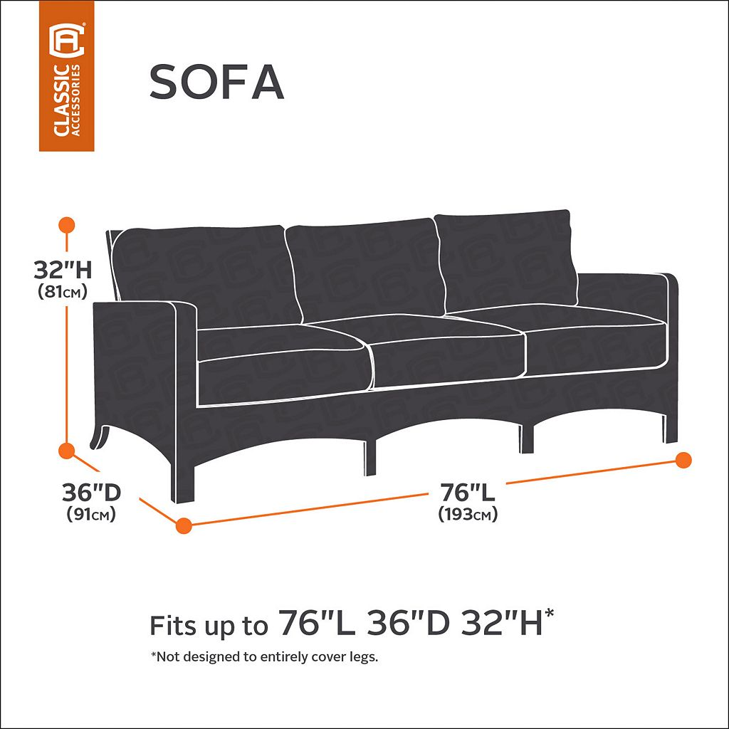 Atrium Patio Sofa or Loveseat Cover