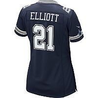 Women's Nike Dallas Cowboys Ezekiel Elliot Replica Jersey