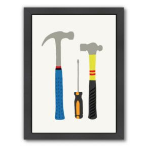 "Americanflat ""Tools 1"" Framed Wall Art"