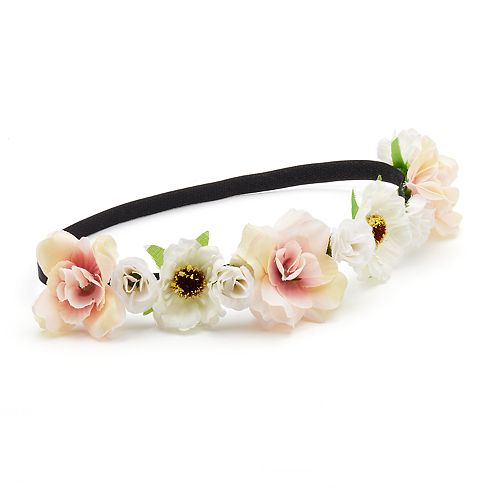 Mudd® Flower Elastic Headband