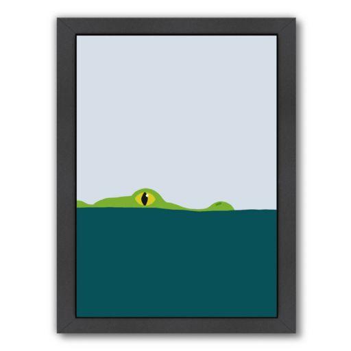 "Americanflat ""Crocodile"" Framed Wall Art"