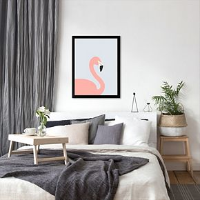 "Americanflat ""Flamingo"" Framed Wall Art"