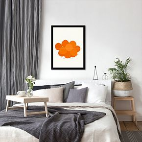 "Americanflat ""Bowl Of Oranges"" Framed Wall Art"