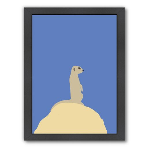 "Americanflat ""Meerkat"" Framed Wall Art"
