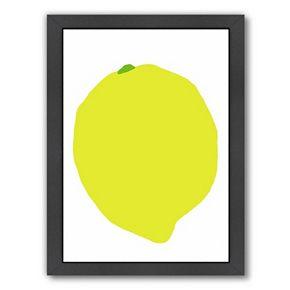 """Americanflat """"Lemon"""" Framed Wall Art"""