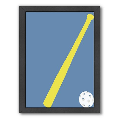 "Americanflat ""Whiffle Ball"" Framed Wall Art"