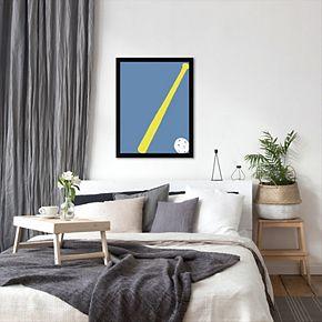 "Americanflat ""Whiffle Ball"" Framed Wall Art"