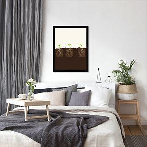"Americanflat ""Transplants"" Framed Wall Art"