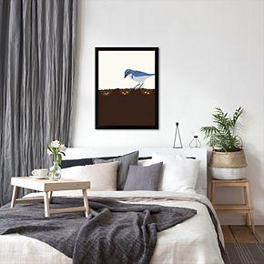 """Americanflat """"Seeds"""" Framed Wall Art"""