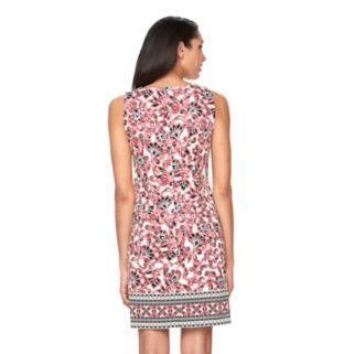 Women's Suite 7 Scroll Floral Shift Dress