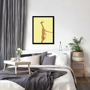 """Americanflat """"Gerenuk"""" Framed Wall Art"""