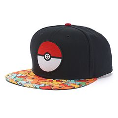 Men's Pokemon Snapback Cap