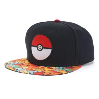 Men's Pokemon Snapback Cap