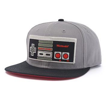 Men's Nintendo Snapback Cap