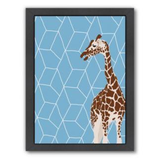 "Americanflat ""Giraffe"" Framed Wall Art"