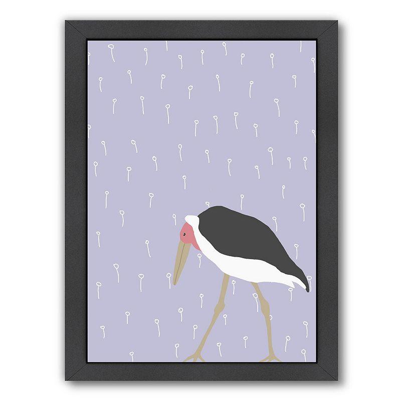 """Americanflat """"Stork"""" Framed Wall Art, Medium"""