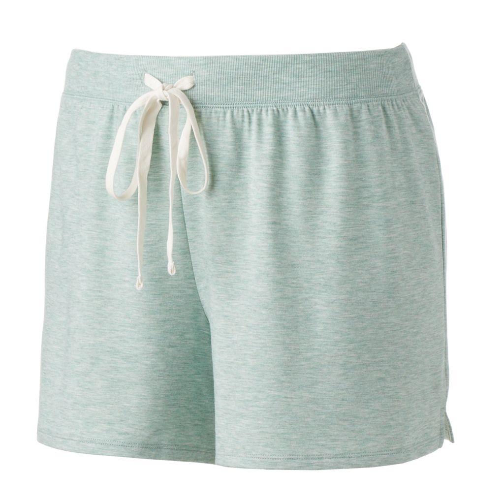 Plus Size SONOMA Goods for Life™ Pajamas: French Terry Pajama Shorts
