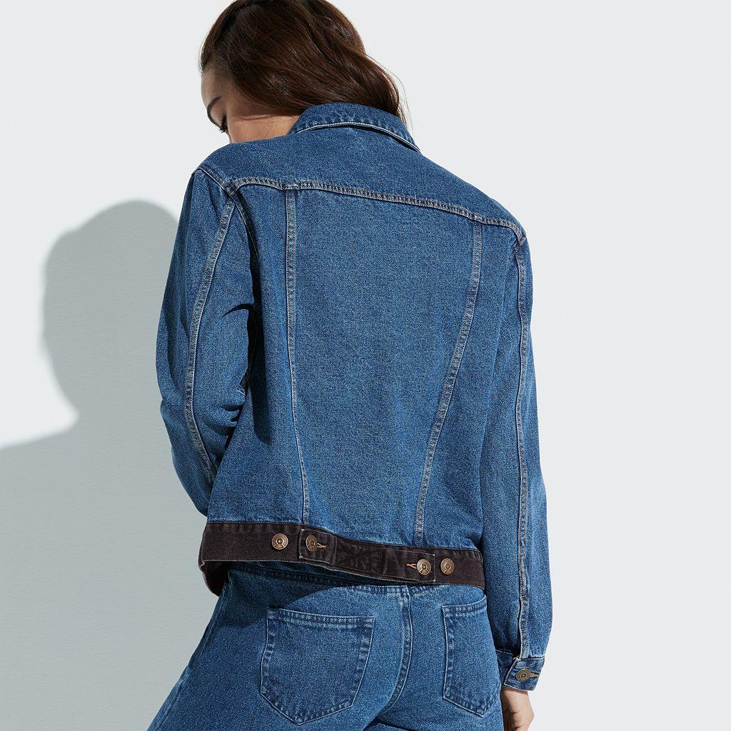 k/lab Two-Tone Denim Jacket