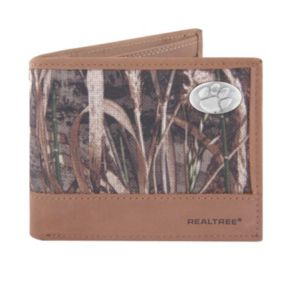 Realtree Clemson Tigers Pass Case Wallet
