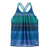 Girls 7-16 FILA SPORT® Solid Built-In Bra Patterned Tank Top