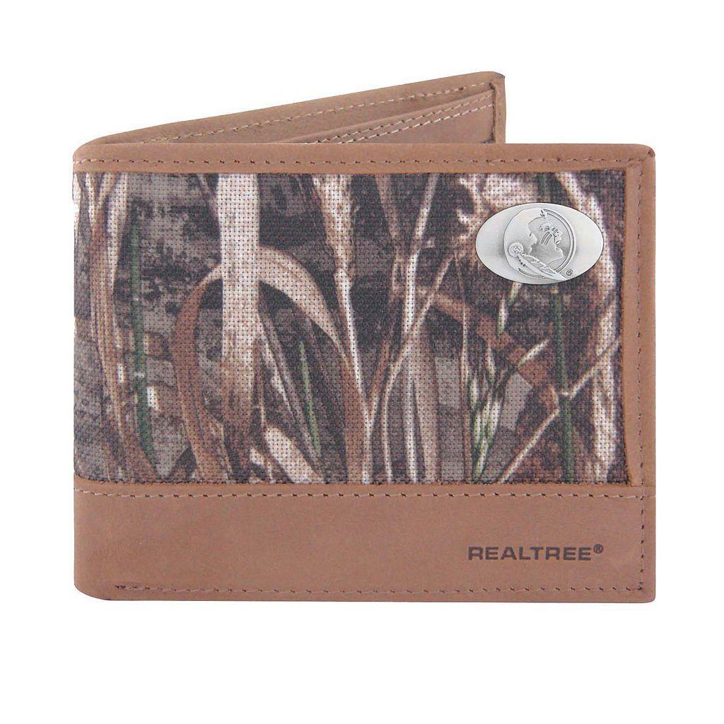 Realtree Florida State Seminoles Pass Case Wallet