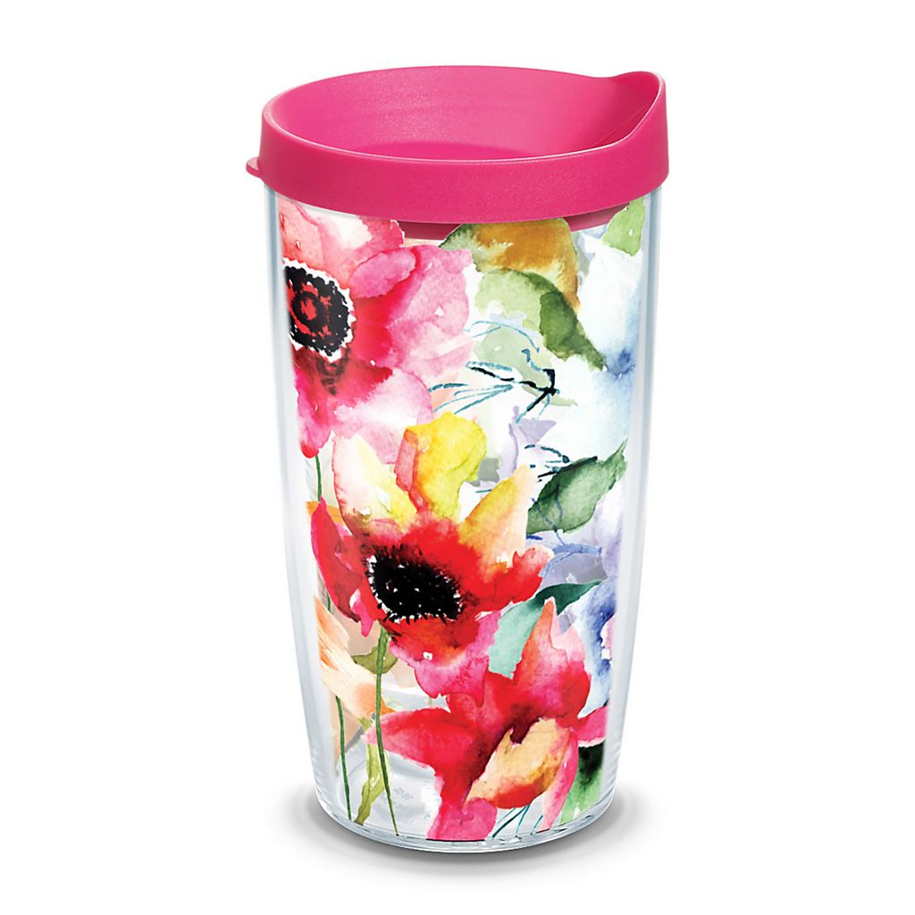 Tervis Watercolor Blooms Tumbler