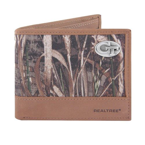 Realtree Georgia Tech Yellow Jackets Pass Case Wallet
