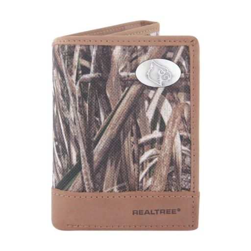 Realtree Louisville Cardinals Trifold Wallet